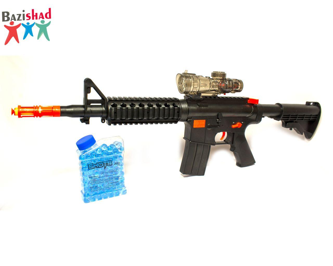 تفنگ اسباب بازی تیر ژلهای اسفنجی G160