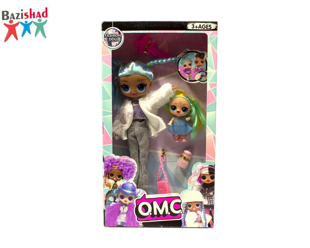 عروسک پرنسس LOL همراه با بی بی