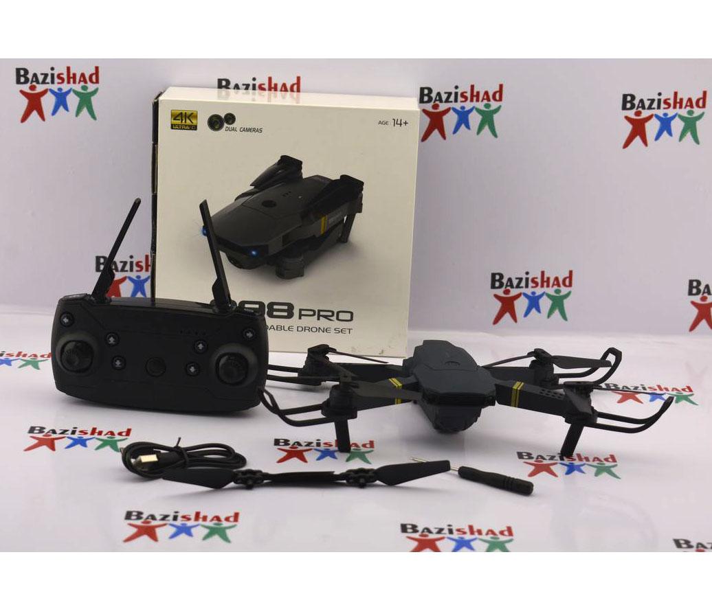 کوادکوپتر دو دوربین 4k مدل 998 پرو