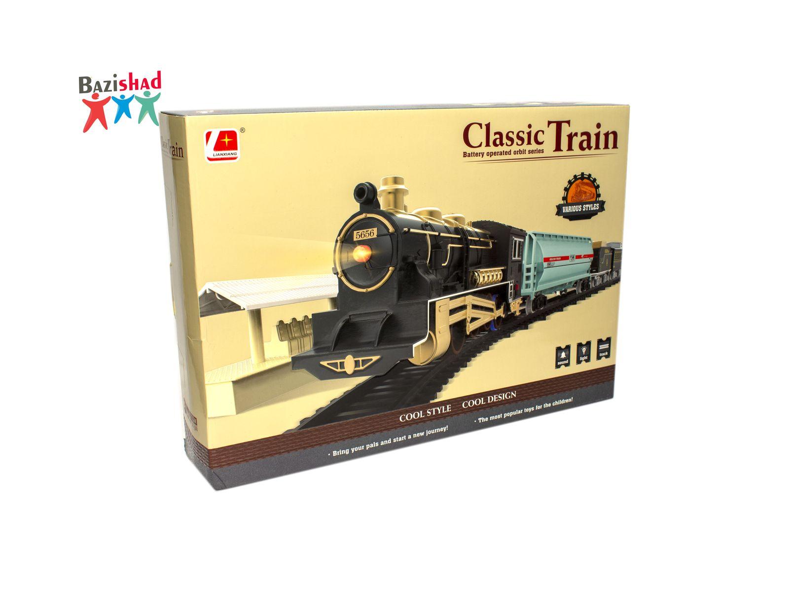 اسباب بازی قطار classic train 3022